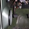 Parking brake lever down