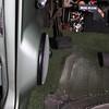 Parking brake lever up