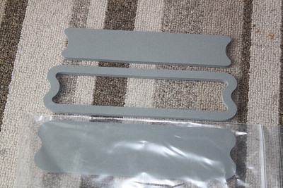 Gaskets as received