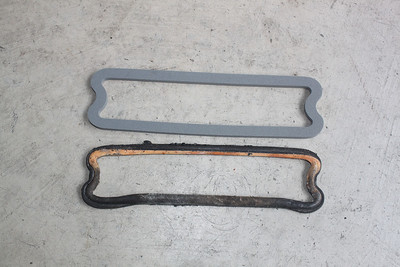 New gasket compared to 49 year old one