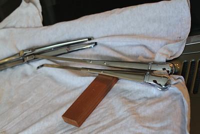 Wiper arm comparison