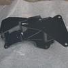 Power-coated A/C compressor & alternator bracket - back
