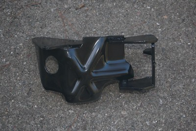 A/C compressor & alternator bracket - top