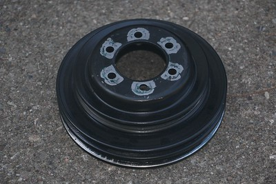 Crankshaft pulley - back