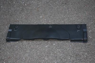 Radiator top plate - top rear