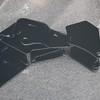 Power-coated A/C compressor & alternator bracket - front