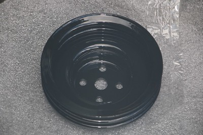 Power-coated Water pump pulley - front