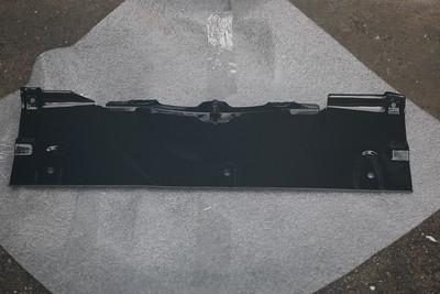 Power-coated Radiator top plate - bottom