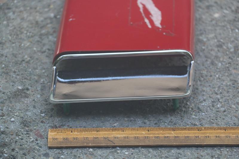 Intake of 1967 GS hood scoop