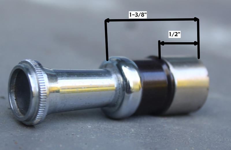 Cigarette lighter knob end