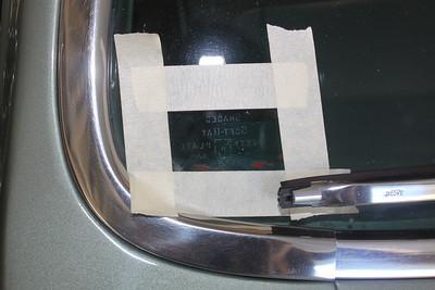 Biquette's original windshield manufacturer