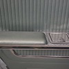 Driver's side rear door arm rest - side