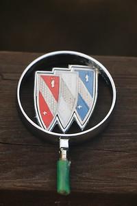 Hood ornament mock-up - front