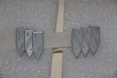 Tri-Shield inserts separated from ornament