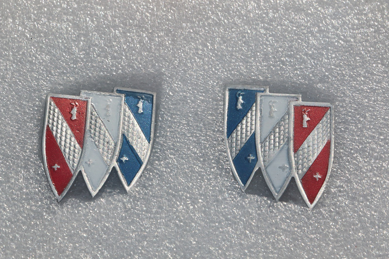 Repainted Tri-Shield inserts
