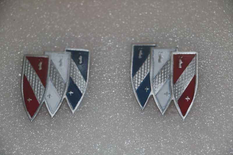 Painted Tri-Shield inserts