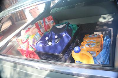 Biquette brings home groceries after Sportsman test drive.