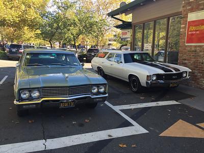 Biquette and Orinda Motors wagon