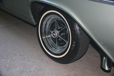 Fresh tire dressing - rear