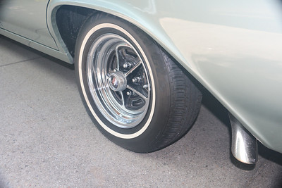 Long lasting tire dressing after 7 months - rear