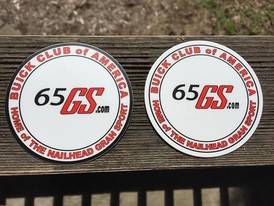 65GS.com stickers