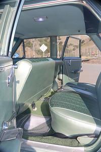 Biquette's rear seats - port