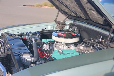 Biquette's engine - port midway front