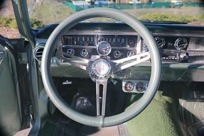 Biquette's steering wheel