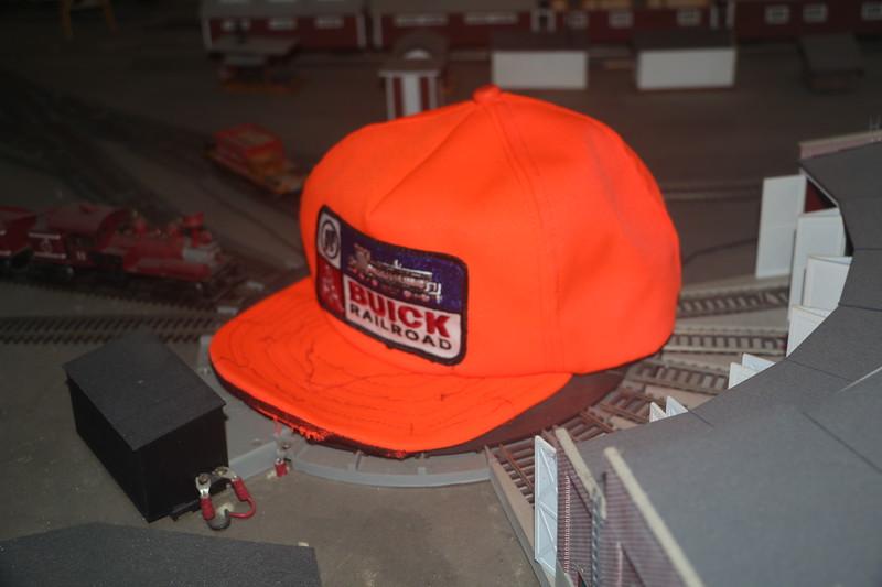 Buick railroad cap - front