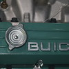 Biquette's port valve cover after application of Flitz polish