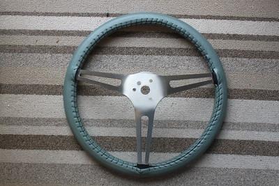 Steer wheel wrap - rear view