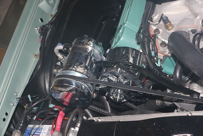 Biquette's new alternator