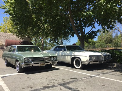 Biquette and a 1968 Buick Electra