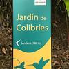 Hummingbird Garden Sign