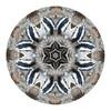 Black-and-white Warbler Mandala