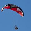 Flying an ultralight with the Gulls, Venice Beach, San Mateo County, 7-Sept-2013