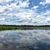 Clouds and Lake at Napo Wildlife Center