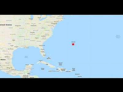 Bermuda is a British Overseas Territory in the North Atlantic Ocean.  I, like many others I have spoken to, thought Bermuda was close to the Caribbean.  It is actually 665 miles east-southeast of Cape Hatteras, NC.