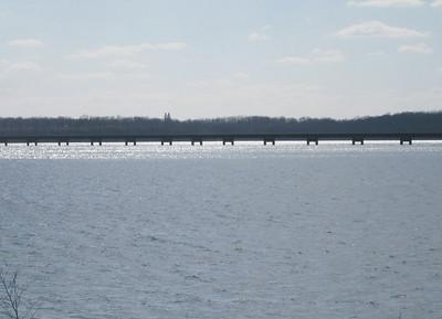 Red Rock flooding...Mile-long Bridge, Marion Co.  03-28-10