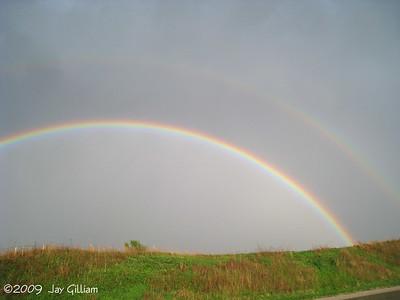 Double rainbow in Polk Co.  05-06-09