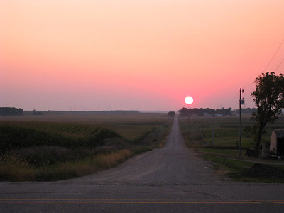 Sunrise in Black Hawk Co.  09-20-08