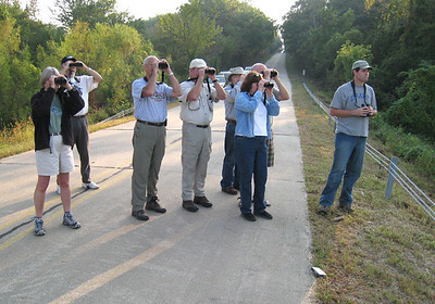 Birding at Saylorville before Steve's wedding.  09-27-08