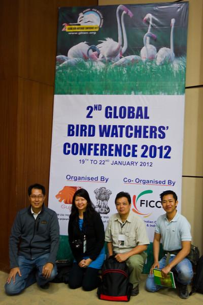 Philippine Delegates:  Anna Gonzales, Mark Jason Villa