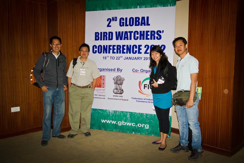 Philippine Delegates: Mike Lu, Alain Pascua, Anna Gonzales, Mark Jason Villa