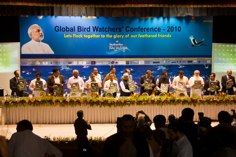 Opening Ceremonies, GBWC 2010, Jamnagar Town Hall, November 25, 2010.