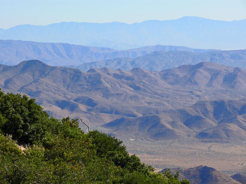 View of the Anza-Borrega Desert
