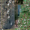 Carlyle lake 50mi circle Full view <br /> Note: the circle has been lately deemed to include all of the lake