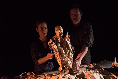 BIRDHEART - Created by Julian Crouch and Saskia Lane.At Z Below April 6-17, 2015.Photo by Jill Steinberg