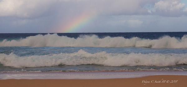 Rainbow Over Pipeline
