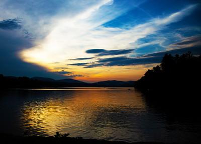 Wilson Lake Sunset, July 2019